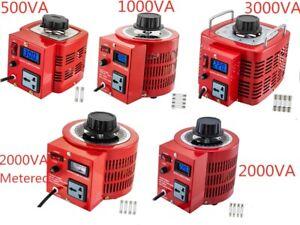Auto-Variac-Variable-Transformer-0-5-1-2-3KVA-Regulator-pure-copper-coil-220V