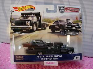Hot BLACK HOLE Racing  /'66 Super NOVA AA//GS NHRA Drag Chevy ! rlc