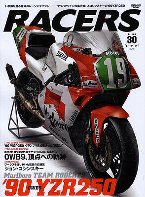[BOOK] RACERS 30 Yamaha YZR250 0WB9 John Kocinski TZ250 Marlboro Tetsuya Harada