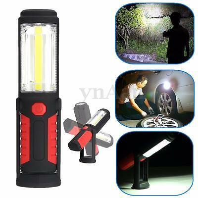 2in1 Super Bright COB+LED Camping Work Inspection Light/Lamp/Hand Torch Magnetic