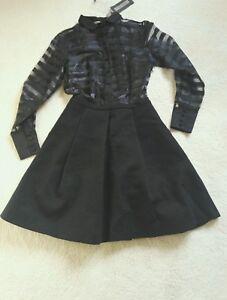 Grazia Dress £ Rrp Italian Designer 280Maria Panizzi uTlcFK1J35