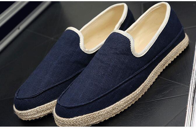 les nouveaux jeans en denim occasionnel toile de toile occasionnel de glisser sur les mocassins mocassins pla ts 1c415b