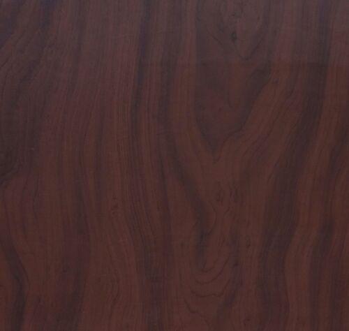 Klebefolie Holzdekor Möbelfolie Ahorn dunkel 45 cm x 200 cm selbstklebend