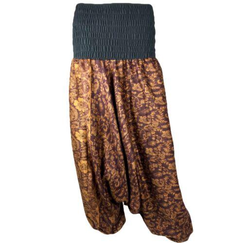 PAISLEY HAREM TROUSERS Warm Cosy Aladdin Alibaba Pants Hippy Festival Afghani