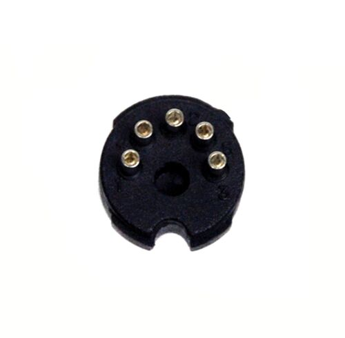 50pc DIN Male Plug Connector SCN680-P05 5P Tube Radio Audio Signal DIN Jack