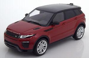 1:18 Kyosho Land Rover Range Rover Evoque Dynamic Lux black//red