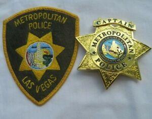 Movie Badge & Patch LAS VEGAS Nevada Polizei Abzeichen US Police USA - NO Göde !
