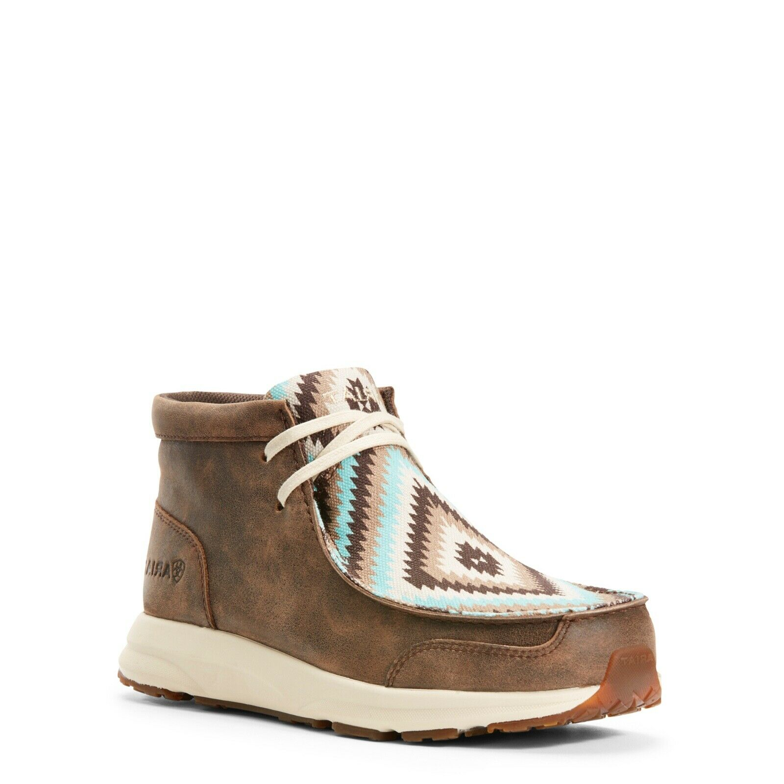 Ariat® Ladies Spitfire Marroneee Turquoise Tribal Lace-up scarpe 10027347
