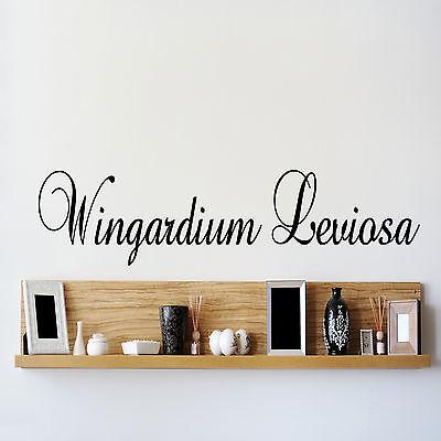 Harry potter Wingardium Leviosa Wall Sticker Vinyl Decal bedroom lounge kids