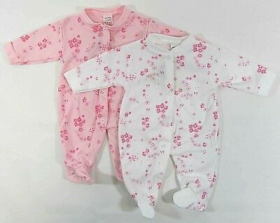 BABYPREM Baby Girls Clothes Sleepsuit Babygrow One-Piece Coverall Outfit 0-9 m