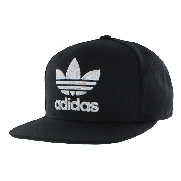 adidas Originals Thrasher Chain Snapback Hat Cap Beanie Logo - Black white  for sale online  ed9c94eabcc