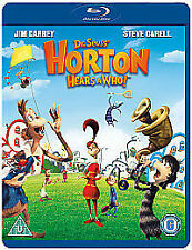 Horton Hears A Who! [Blu-ray] [2008], Excellent DVD, Jim Carrey, Steve Carell, S