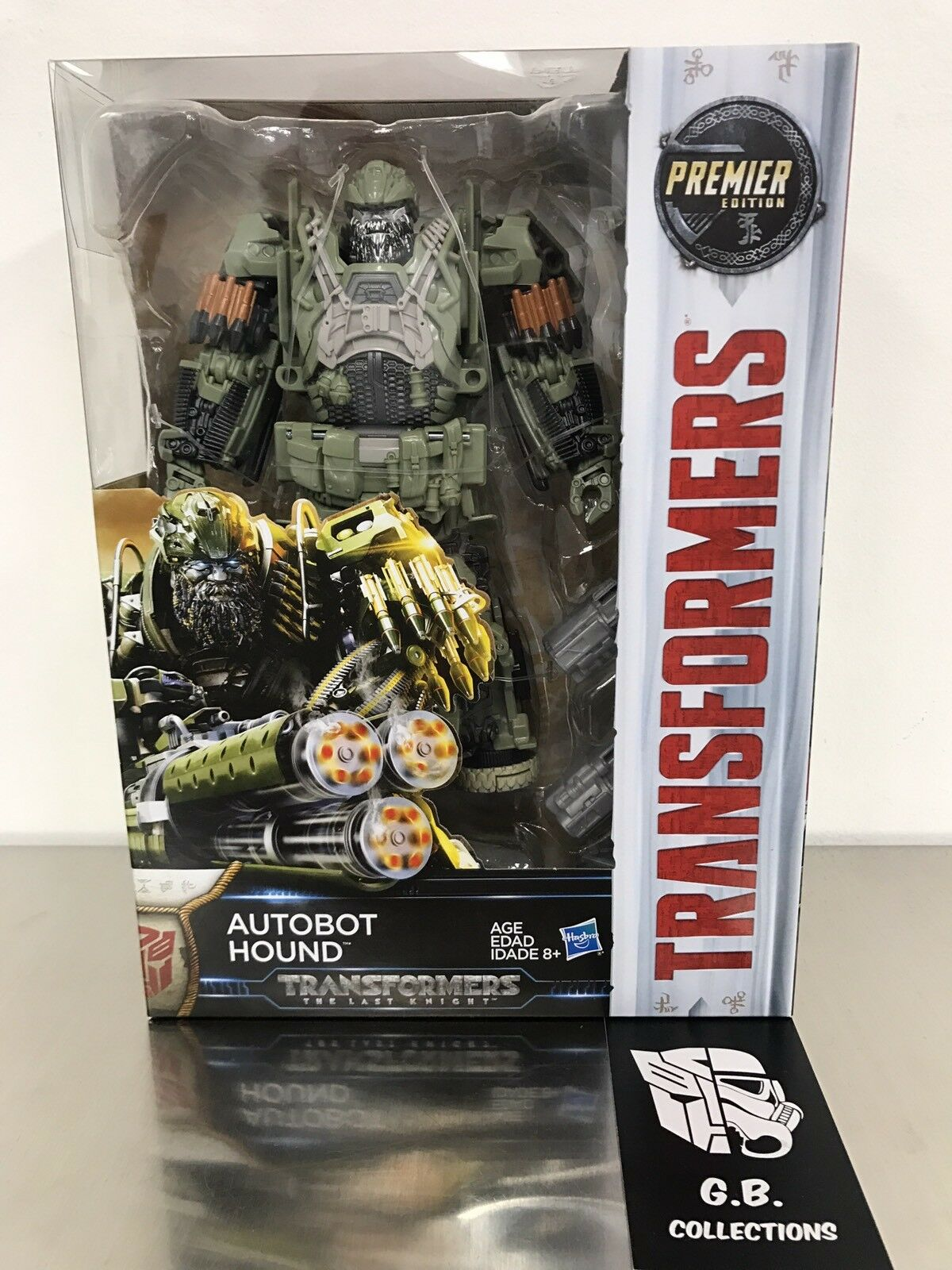 Transformers The Last Knight Premier Edition Autobot Hound Voyager Class MISB