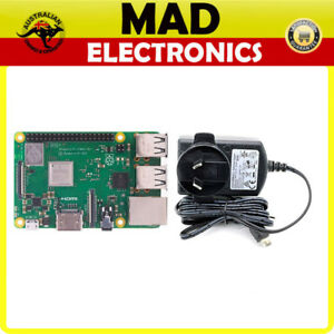 Details about Raspberry Pi 3 Model B+ PLUS and Official Raspberry Pi 3  Power Supply