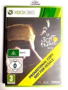 Le-Tour-de-France-2012-Xbox-360-Videojuego-Neuf-Scelle-Promo-Scelle-Nouveau-Eur