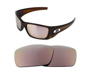 f6e32b87f3 Image is loading NEW-POLARIZED-REPLACEMENT-ROSE-GOLD-LENS-FOR-OAKLEY-