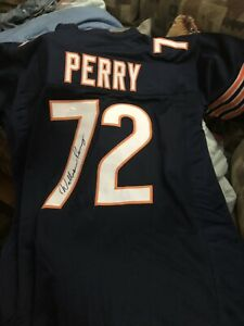 new style 12873 e7dc9 Details about William Refrigerator Perry Autographed Chicago Bears Custom  XL Jersey JSA Signed