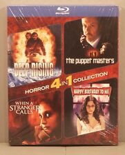 The Puppet Masters-When a Stranger Calls-Happy Birthday to Me Blu-ray 2-Disc NEW