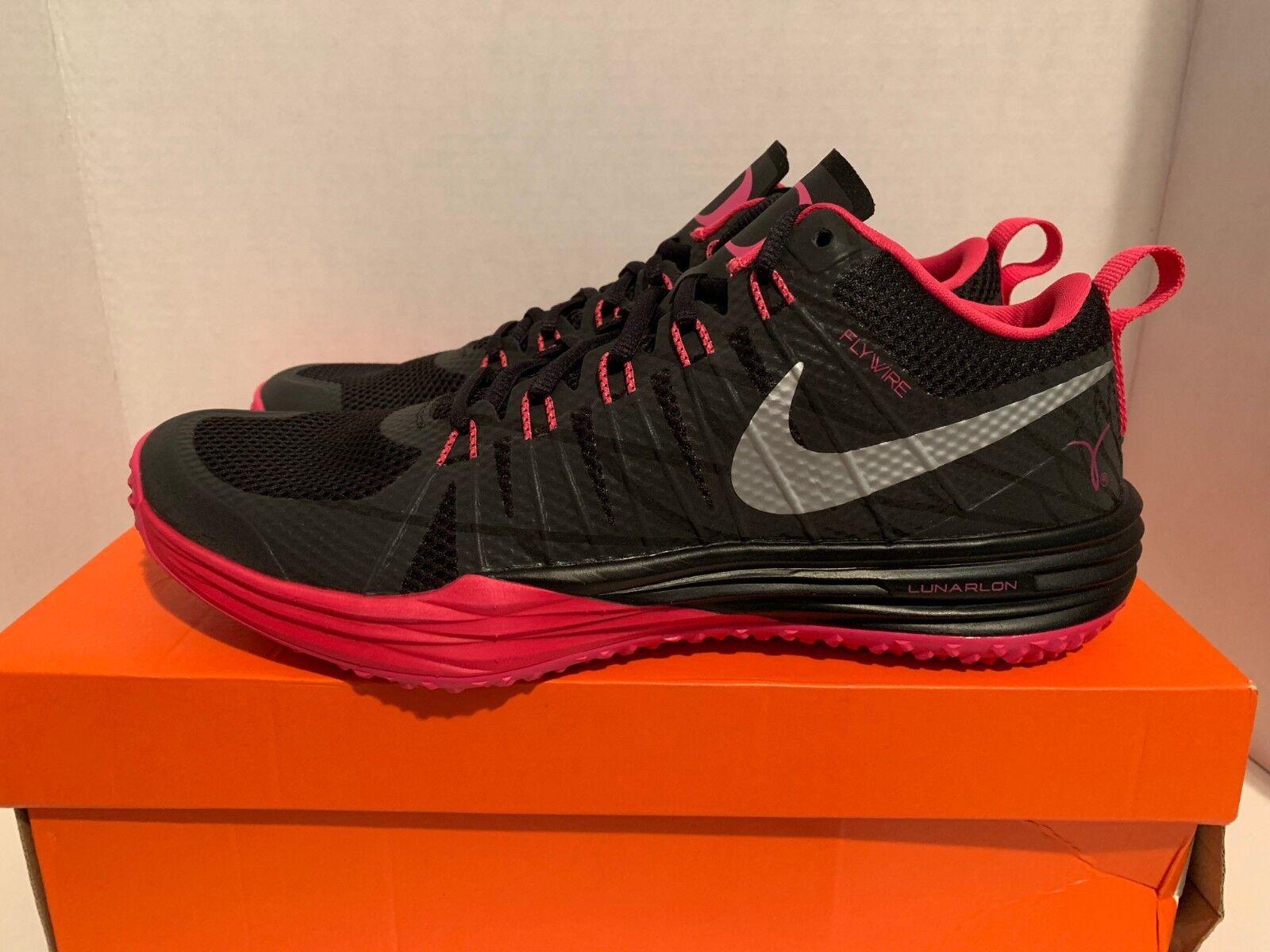 Nike Lunar TR1 NRG Kay Yow Cancer Oregon Ducks LE QS Sneakers Men's Size 11 12