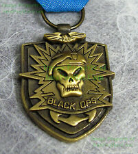 Call Of Duty Black Ops Medal w/ Case Prestige Edition Exclusive Limited NICE!