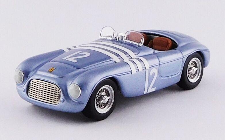 Art model  357-ferrari 166 mm barchetta chassis  0014 1er gp Helsinki 1952 1 43  design simple et généreux