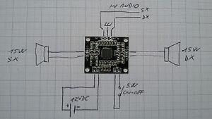 2X-MINI-AMPLIFICATORE-DIGITALE-15-15W-12V-CLASSE-D-MODULO-PAM8610
