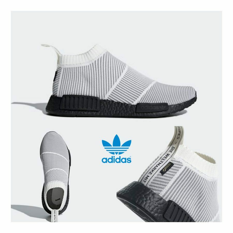 Details about Adidas Original NMD PK City Sock Gore Tex Boost Shoes White BY9404 SZ 4 11