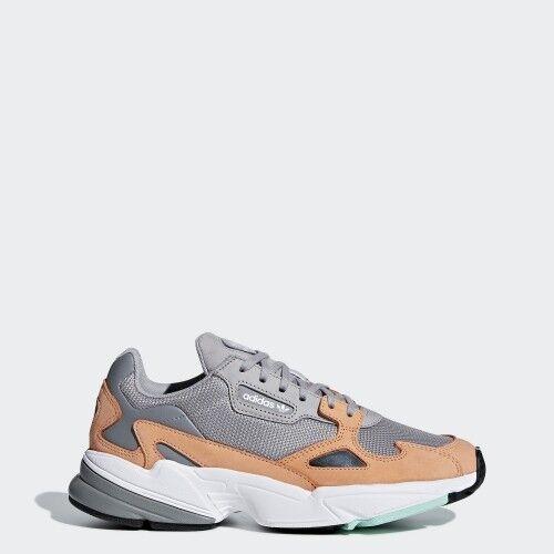 Adidas B28130 Falcon Running shoes grey orange Sneakers