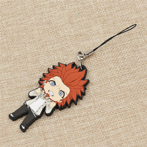 1Pc Key Chain Cartoon Danganronpa Characters Pendant Hang Accessories Keyring