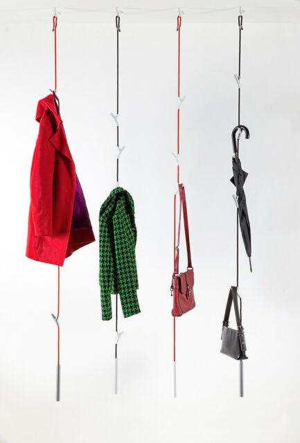 Authentics Wardrope Garderobenseil Garderobe 3m Länge Versch Farben