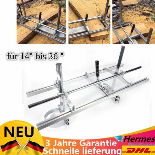 """Zubehör Neu Mobile Sägewerk Motorsäge Kettensäge Holz Brett Für 14/'/'-36/"""" Inkl"""