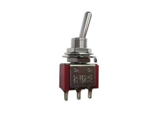 Deviatore levetta miniatura unipolare 2 posizioni ON-ON 250V 125V 6A leva 220V