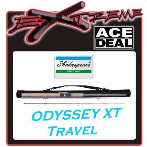 Shakespeare odyssey spin XT 2,10 m bachgerte con cordura tubo de transporte