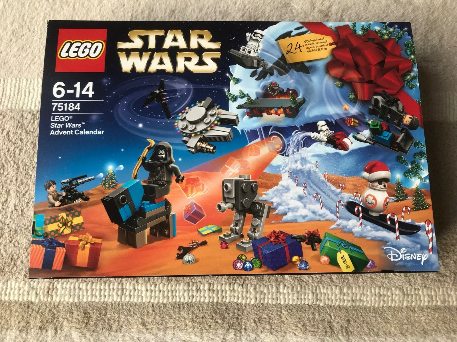 LEGO Star Wars 75184 ADVENT CALENDAR 2017 - BRAND NEW SEALED - RARE
