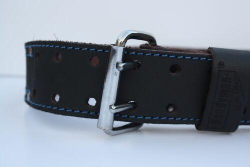 2 10 pkt Carpenter Electrician Tool Pouch Waist Bag w// Belt OIL TAN Leather