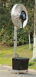 Fan EURO Mist Fan Outdoor Mist Fan Commercial/Domestic Big Spray Mist Fan