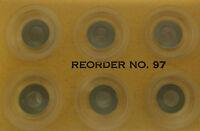 Rubber Sucker 97 Ryobi Offset Clear (12pcs) Ryobi Part 5640-35-531