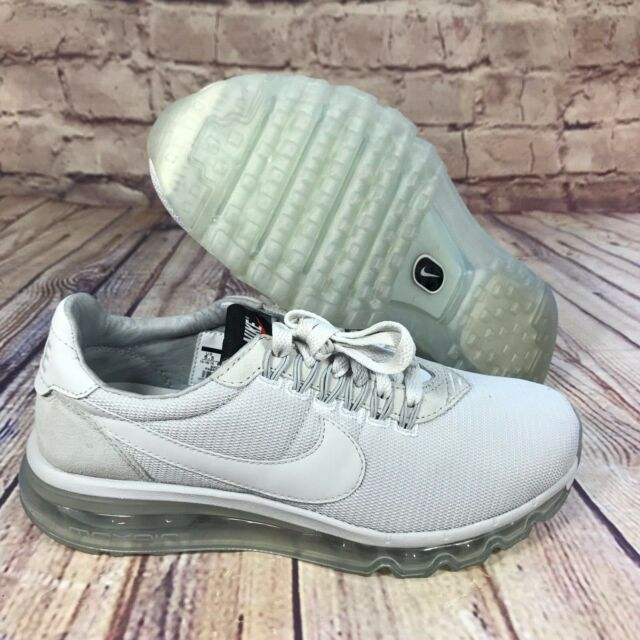 NWB Nike Air Max LD Zero Men's Size 7.5 Pure Platinum Trainers 848624 004