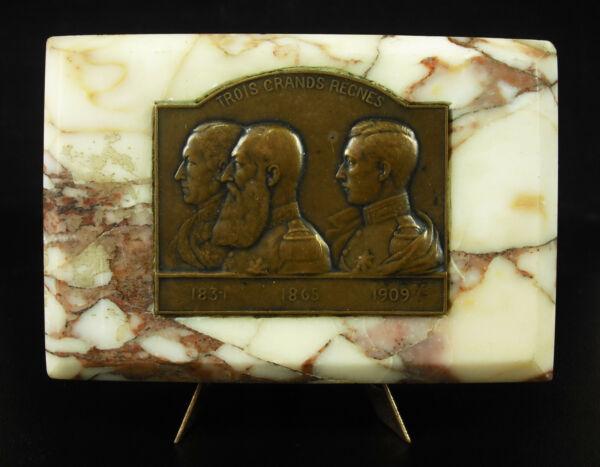 2019 DernièRe Conception Médaille Les Rois De Belgique 1831 - 1909 Joseph Witterwulghe King Belgium Medal GuéRir La Toux Et Faciliter L'Expectoration Et Soulager L'Enrouement