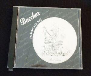Rare-Audio-CD-Bacchus-Un-M-039-ment-D-039-nne-Baqqhus-Canada-Records-Folklore