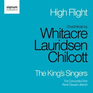 Details about The King's Singers - High Flight: Choral Music by Whitacre,  Lauridsen, C
