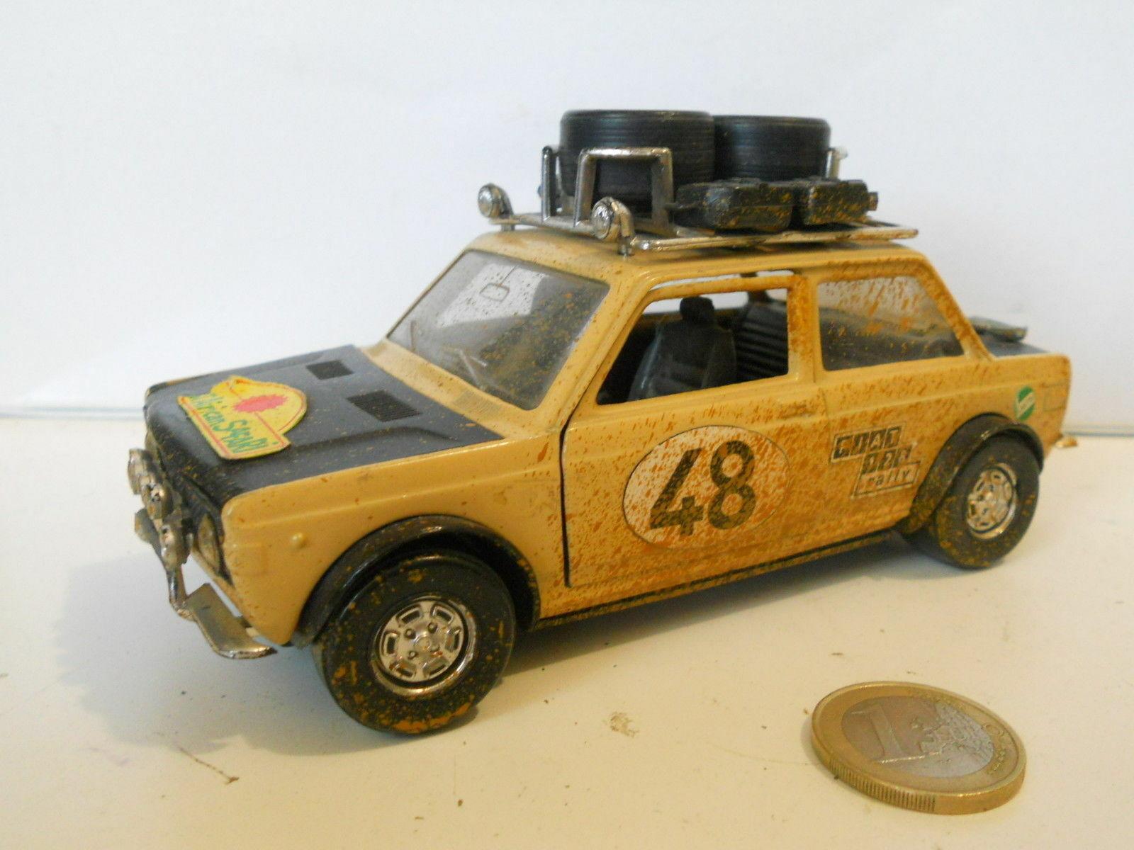 Vintage polistil fiat 128 Safari 1 25 512601 scale