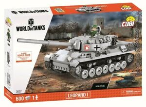 COBI-Leopard-I-3037-600-blocks-WWII-Small-Army-German-tank