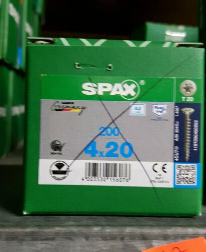 SPAX ® Edelstahl T-Star Antrieb V2A Orginal ABC Spanplattenschrauben 3 bis 6mm
