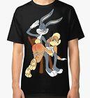 Bugs Bunny and Lola T-shirt Looney Tunes Men Women Tee