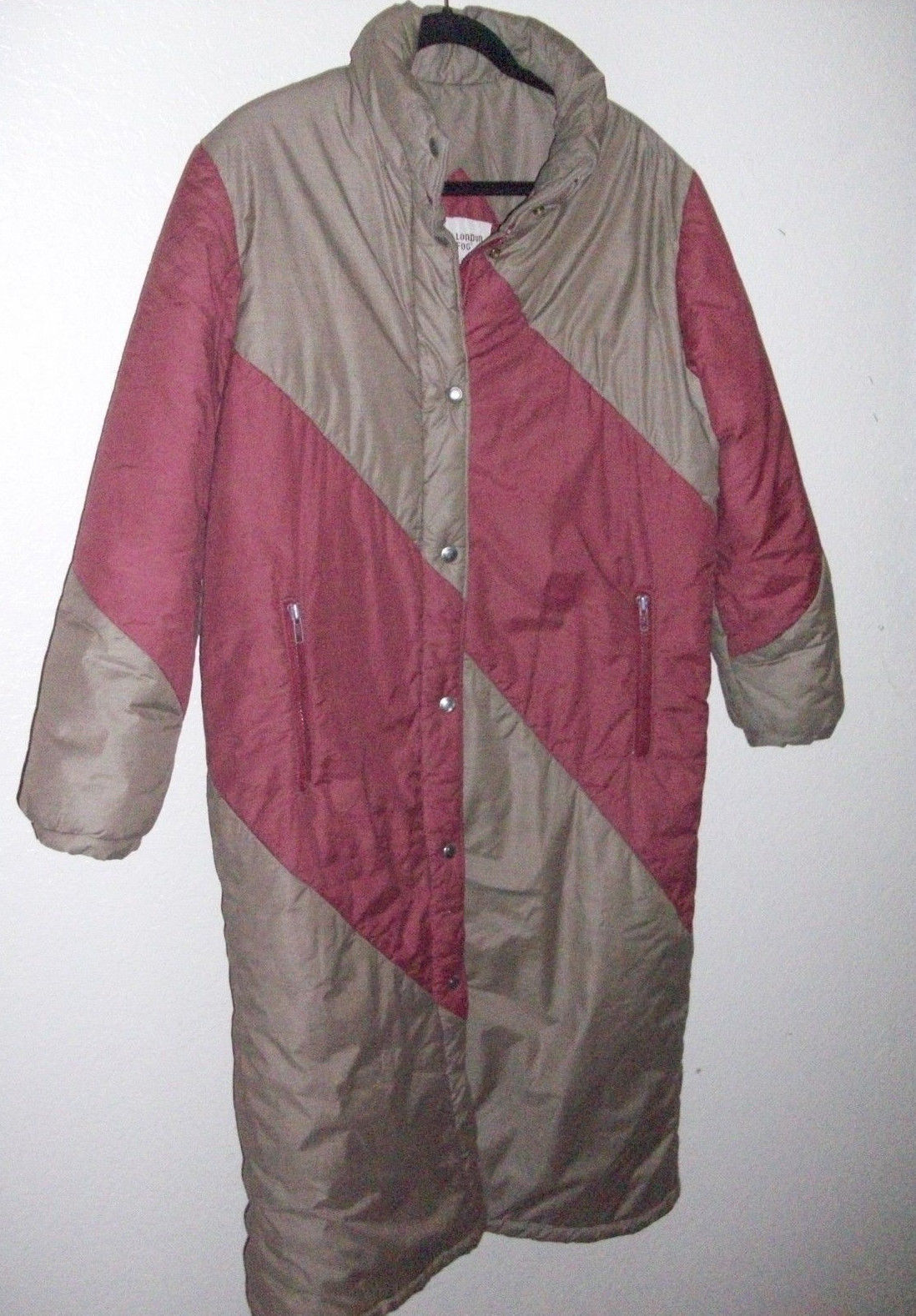 LONDON FOG OUTDOORS UNLIMITED PUFFER LONGER COAT, SIZE 11 12, AWESOME