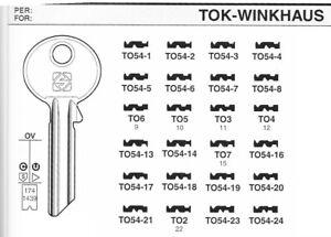 PROFILZYLINDERSCHLUSSEL-Nr-1-24-ALT-ANLAGEN-SCHLUSSEL-fuer-TOK-WINKHAUS-TO54