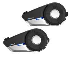 Sena 20S Motorrad Bluetooth Headset Gegensprechanlage Dualpack