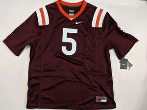 detailed look 92651 22359 Details about Tyrod Taylor #5 Virginia Tech Hokies Nike Football Jersey  Size 2XL