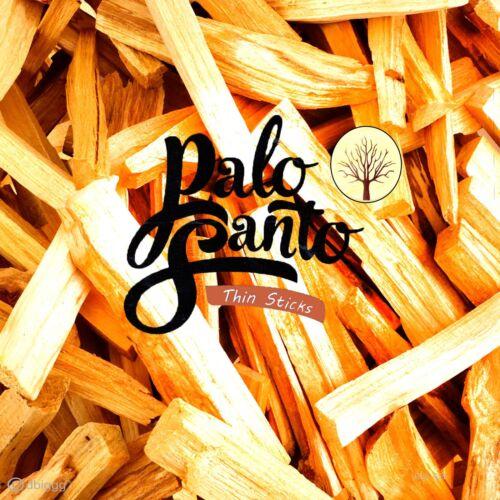 PALO SANTO thin sticks Weihrauch 25g 50g 100g 200g 500g 1000g heiliges Holz